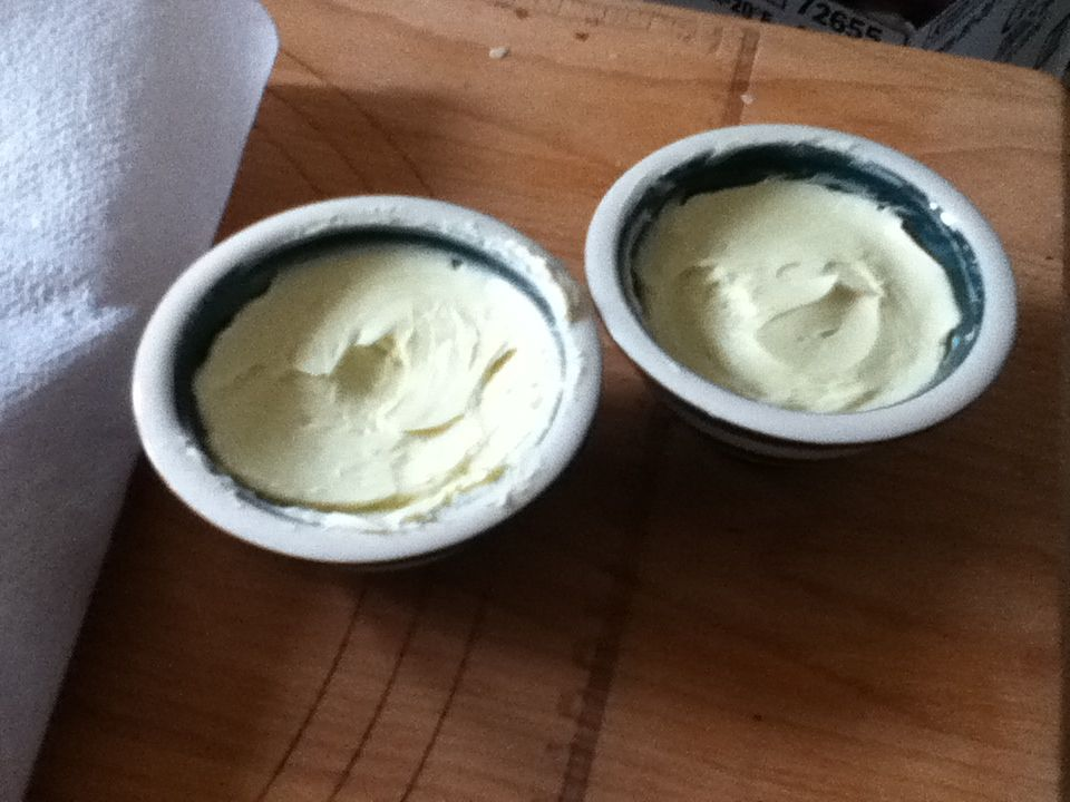 Finished butter